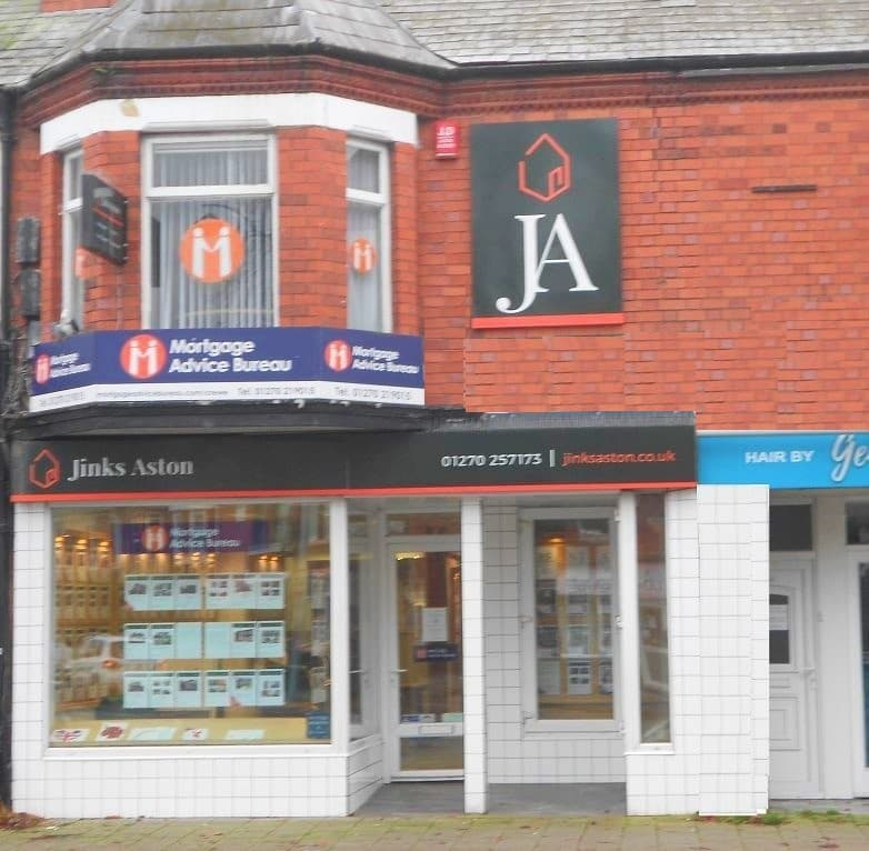Jinks Aston shop front
